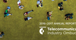 2016-2017 Annual Report for the Telecommunications Industry Ombudsman