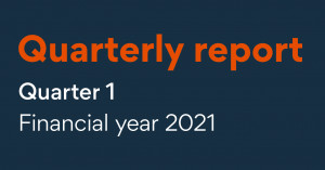 quarterly report quarter 1 financial year 2021